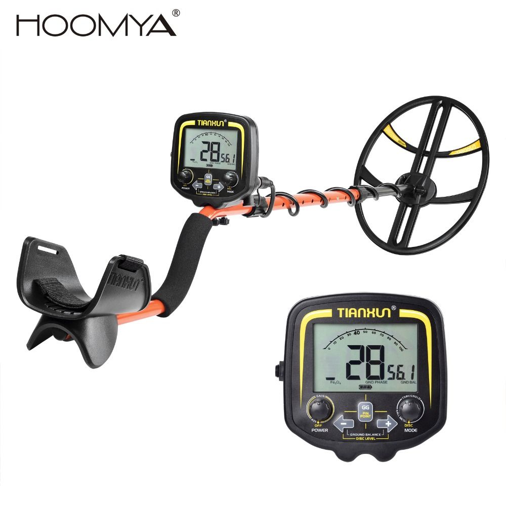 New Arrival TX-850 Plus Underground Metal Detector Treasure Hunter Waterproof Depth Finder Detector Pinpointer High Sensitivity