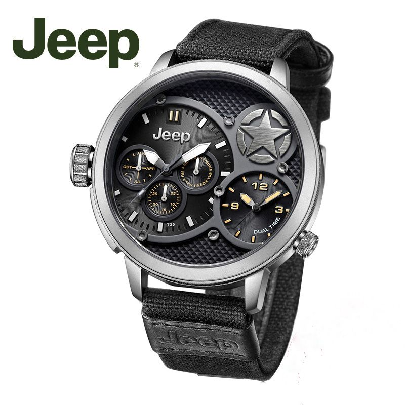 Jeep Original Men Watches Military Quartz Watches Top Brand Luxury Watches Water Resistant Watch JP15201