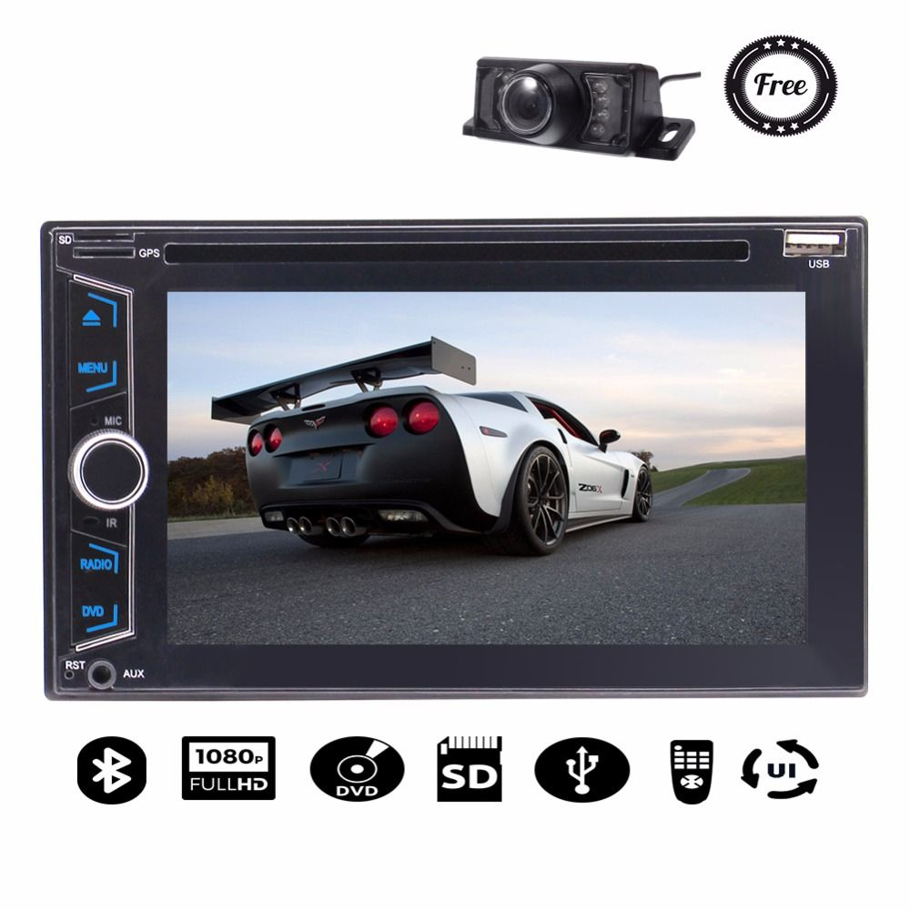 Auto recorder fahrzeug kfz-audiokassetten-adapter Spielen GPS Stereo Mit Touchscreen Support-DVD GPS Radio USB FM AM 1080 P Free Backup Kamera