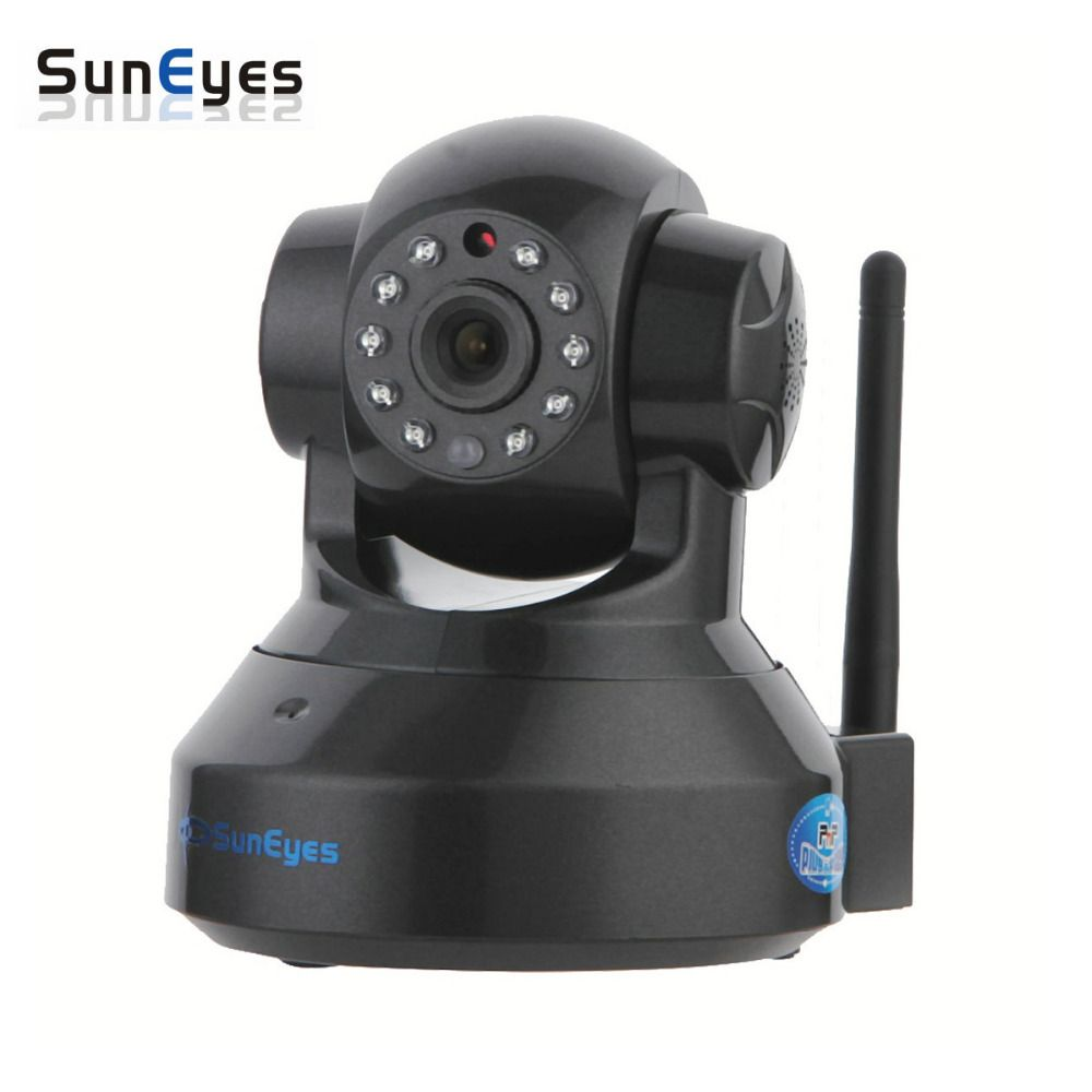 SunEyes SP-TM01EWPH 1080P 2.0MP Full HD Wireless IP Camera with Pan/Tilt and Two Way Audio ONVIF