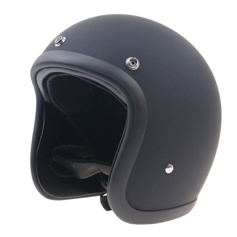 Japanese style chopper bike motorcycle helmet extra light weight and comfortable Shell Handmade Fiber glass shell Vintage stylis