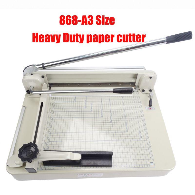 Heavy Duty papier cutter A3 Größe papier schneiden maschine Stapel Papier Trimmer Cutter Ries papier schneiden maschine