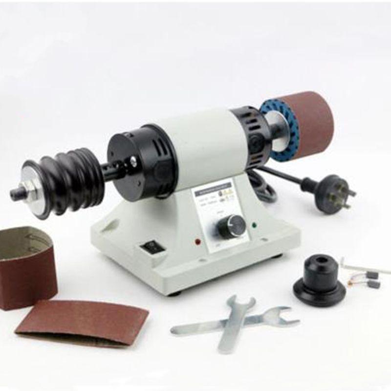 Machine de polissage en cuir Ceinture en cuir bord brunissage machine seulement 220 v