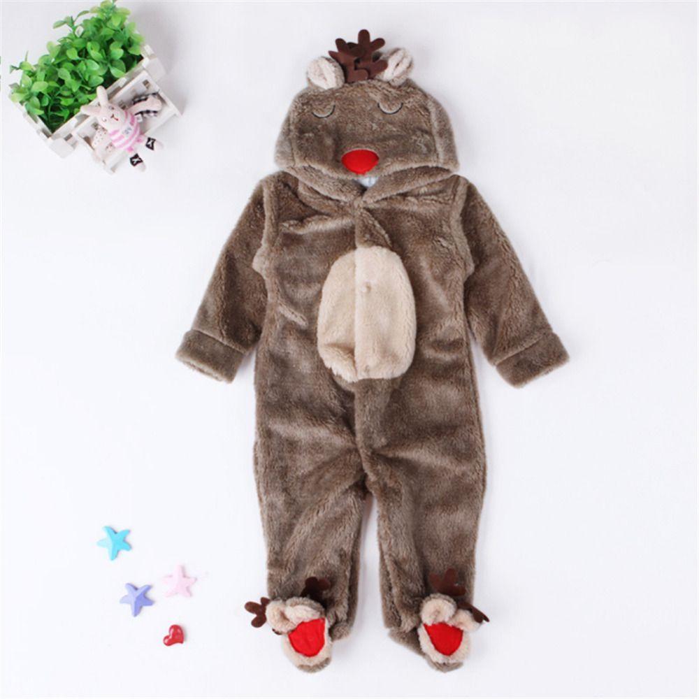 Детские Носки с рисунком медведя из мультика сиамские пижамы теплые коралловые бархатные частей пижамы для Обувь для мальчиков и девочек с...