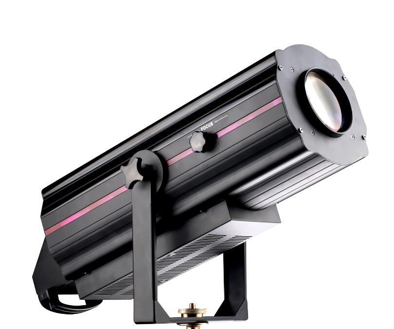NEW 350w CRI>90 white color led follow spot lights 6500k stage follow spot light