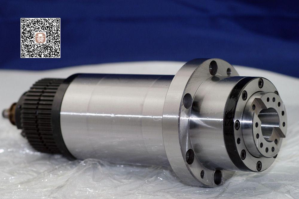 Cnc spindel bt30 zahnriementrieb cnc-fräsmaschine BT30 ATC blütenblatt clamp tellerfeder + deichsel maschine werkzeug