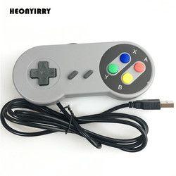 USB Game Controller Gaming Joystick Gamepad Controller for Nintendo SNES Game pad for Windows PC MAC Computer Control Joystick