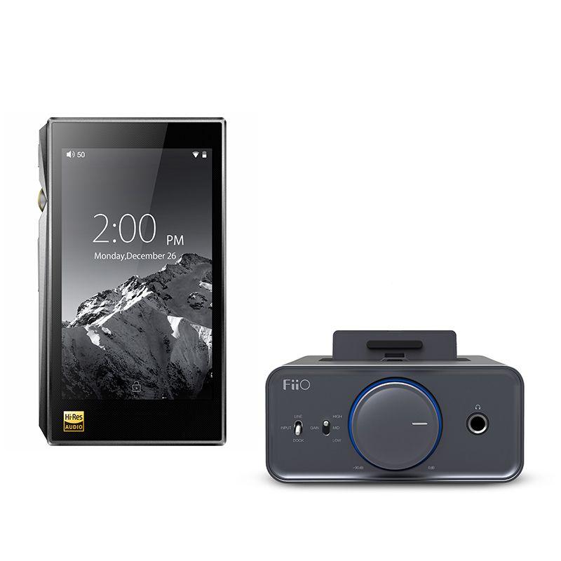 Bundle Verkauf von FiiO Tragbare Hallo-Res Musik Player X5 MKIII Mit Kopfhörer Verstärker K5
