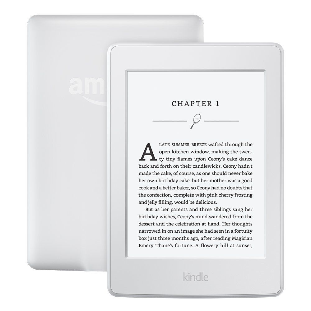 Kindle Paperwhite 3nd Generation White 4GB eBook e-ink Screen WIFI 6