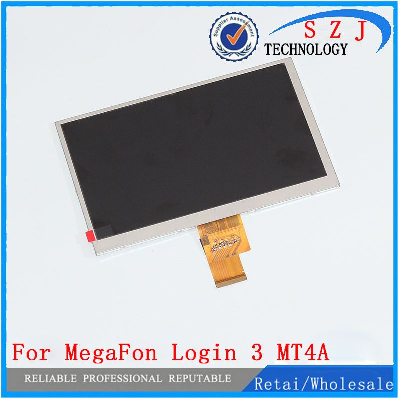 New 7'' inch LCD Display Matrix MegaFon Login 3 III MT4A login3 LCD Screen Panel Lens Frame replacement Free Shipping