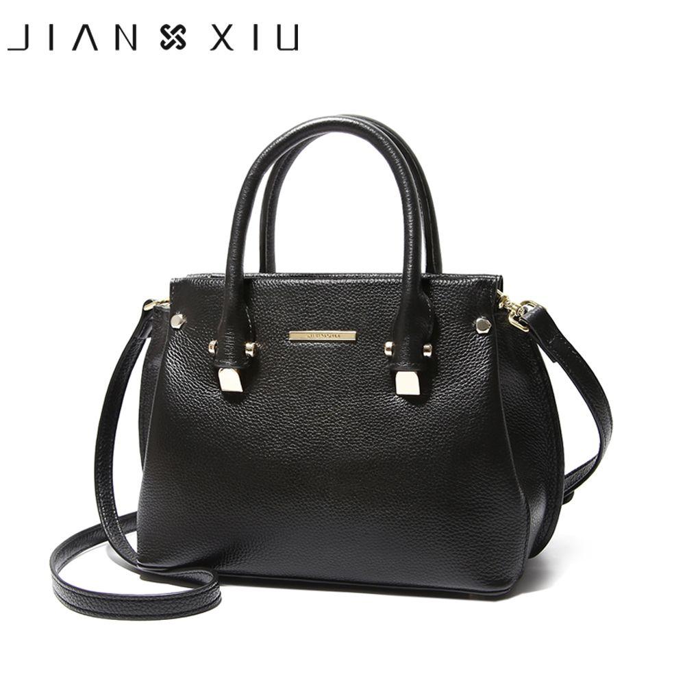 JIANXIU Brand Fashion Genuine Leather Bag Women Messenger Bags Bolsa Handbags Sac a Main Bolsos Mujer Shoulder Crossbody Bags