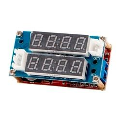 LED 5A Adjustable Power CC/CV Step Down Charge Module Driver Ammeter Voltmeter