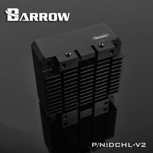 DCHL-V2 de brouette, Kits de radiateur en alliage d'aluminium DDC/17 W, Conversion dédiée au dissipateur de chaleur, pour pompe de série DCC et pompe de brouette 17 W