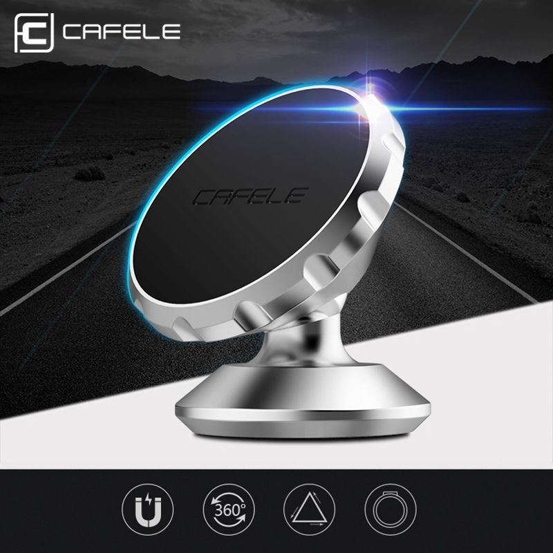 НОВЫЙ CAFELE оригинальный Универсальный Магнитный Телефон Автомобильный GPS Держатель 360 Вращение Магнита держатель Для iPhone Samsung Смартфон