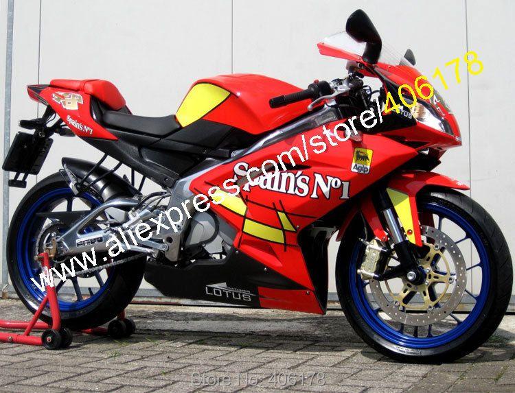 Heiße Verkäufe, spanien No. 1 Für Aprilia RS125 2006 2007 2008 2009 2010 2011 RS125 RS 125 ABS Motorrad Verkleidung (spritzguss)