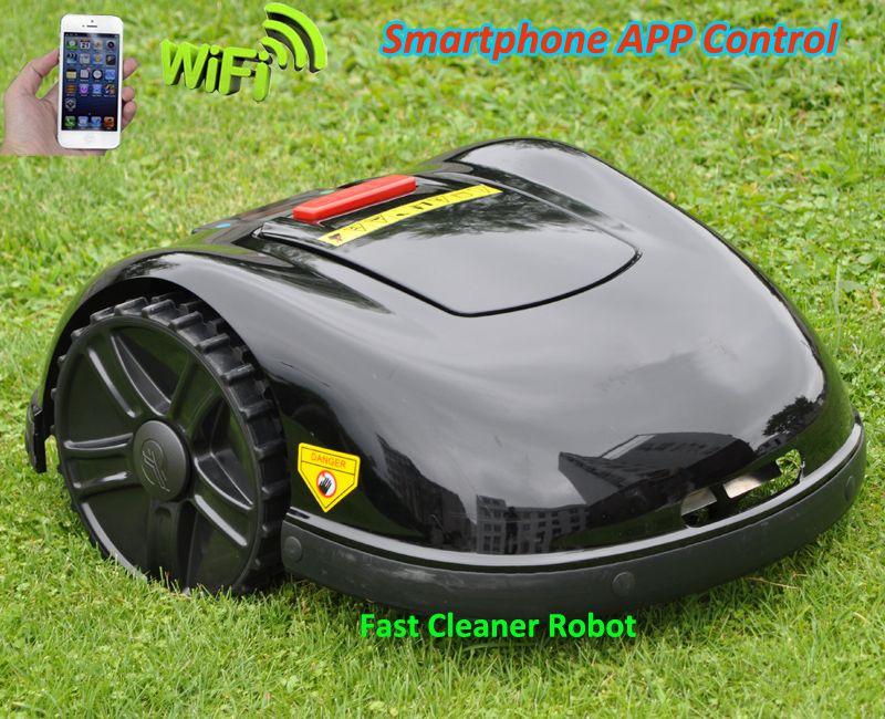 2019 neueste Und Beste 5th Gerneration Smartphone APP Roboter Rasenmäher Mit NEUESTE GYROSKOP Navigation Funktion, Auto Aufgeladen