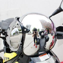 LDMET vintage moto rcycle casco jet casco capacetes de moto ciclista harley astilla chrome vespa cascos para moto cafe racer espejo