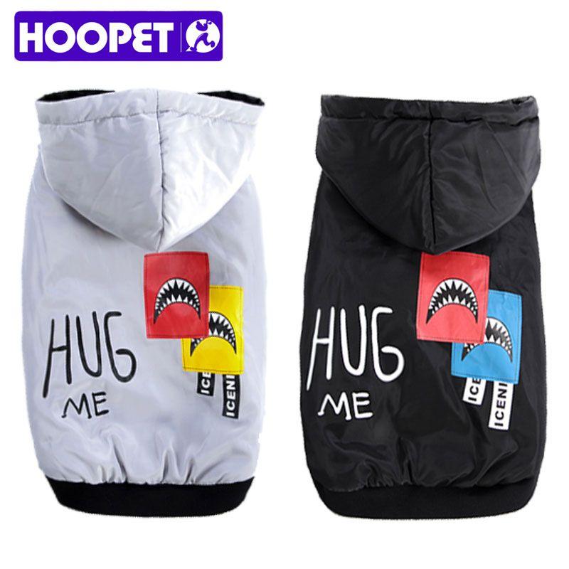 HOOPET Haustier Hunde Große Hund Kleidung Baumwolle-gepolsterte Kleidung Herbst und Winter Zwei Füße Verdicken Warme