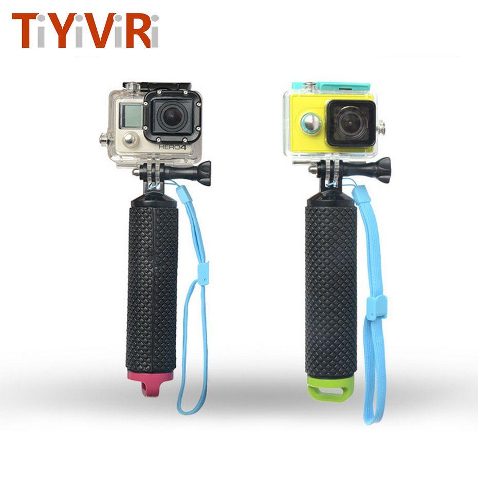 Buoyancy Stick Water Floating Hand Grip Handle Mount Float for GoPro 3 3+ 4 5 SJ4000 SJCam for Xiaoyi Camera Selfie Hand Grip