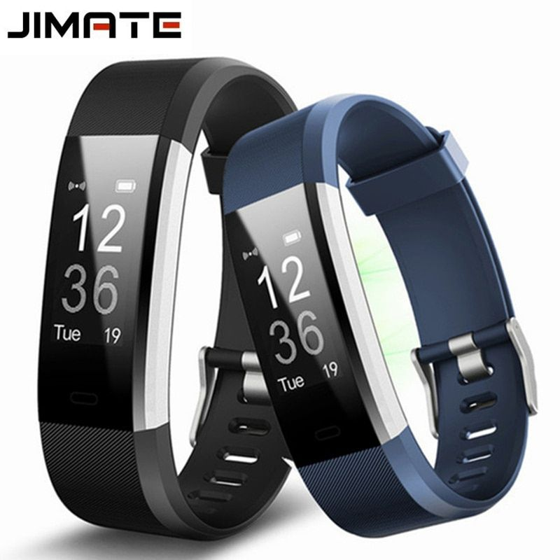 Jimate ID115HR Plus Heart Rate Smart Wristband GPS Sport Smartband Pedometer Fitness Tracker Bracelet Band Watch For IOS Android