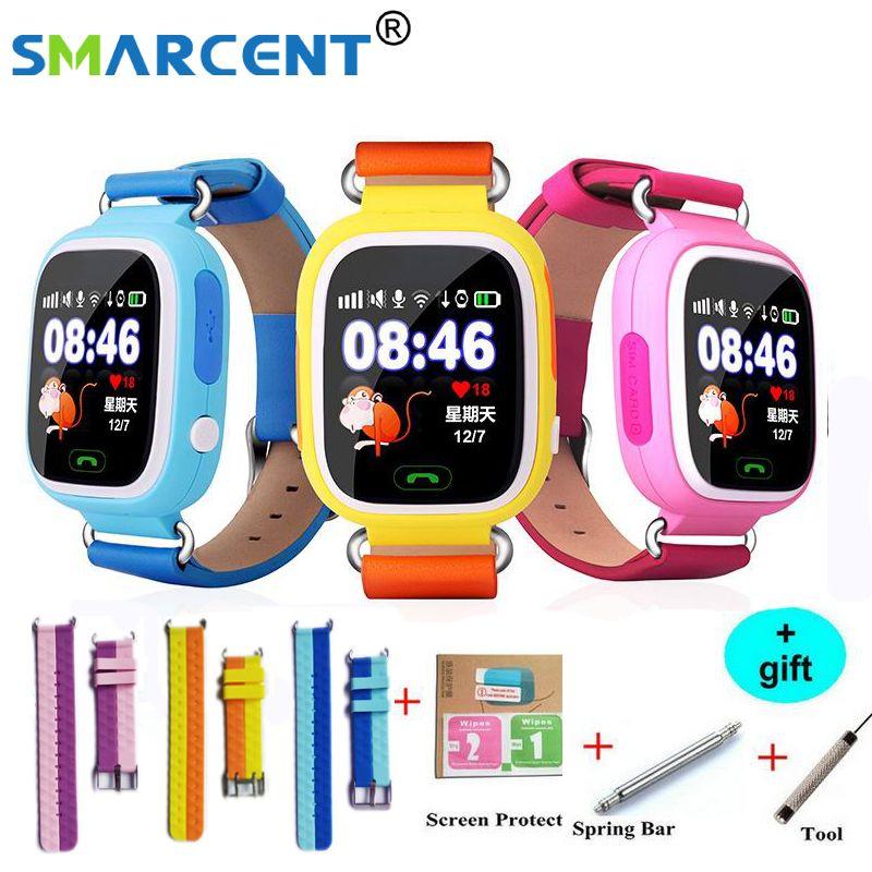 Q90 GPS Smart baby smart watch phone kids GPS Wifi Smart Watch q90 SOS GPS Location Device Tracker Kid Safe Monitor children