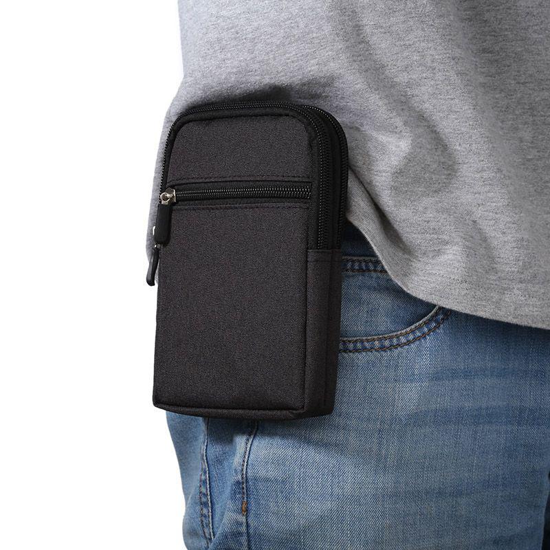 New Universal Denim Sac de Téléphone portable En Cuir Clip Ceinture Poche Taille bourse de Couverture de Cas Pour LG G4 H810 H815 VS999 F500 H818 LS991