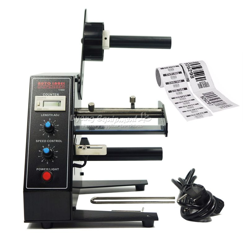 AL1150D Automatische Label Spender Spender Maschine AL-1150D Gerät Aufkleber 220 v 50 hz