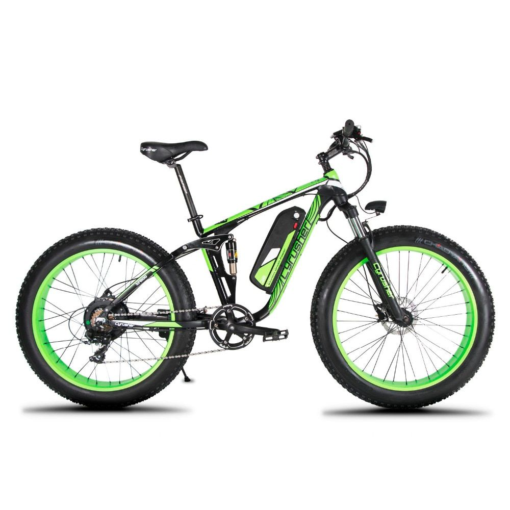 Cyrusher XF800 1000W 48V Electric Bike 26