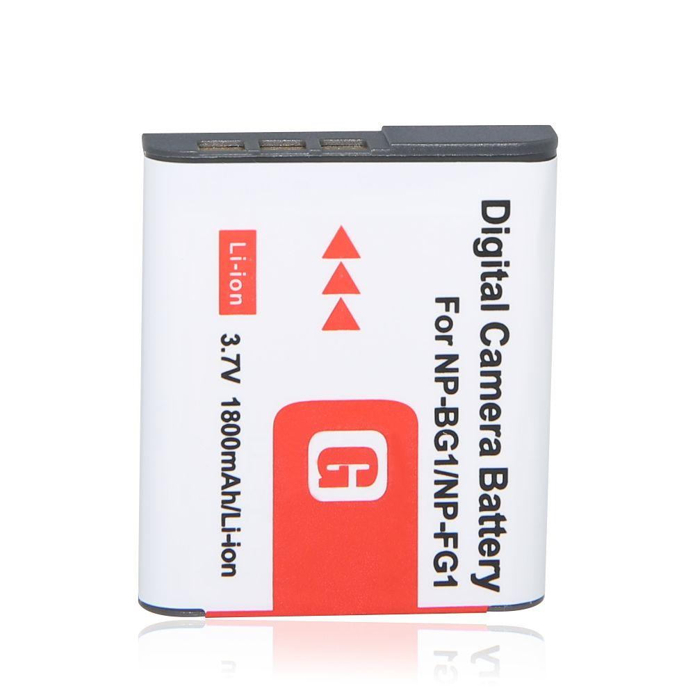 1 stücke 1800 mah np-bg1 np bg1 batterie für sony cyber-shot dsc-h3 dsc-h7, dsc-h10 dsc-h20 dsc-h50 dsc-h55 dsc-h70 kamera