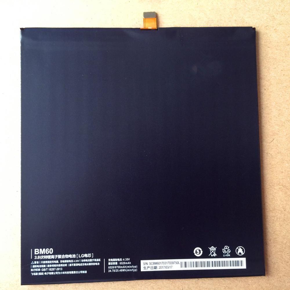 BM60 Batterie Für Xiaomi Pad 1 Mipad 1 A0101 Bateria Batterij Akkumulator 6520 mAh Hohe Qualität