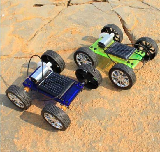 F17909/11 Montage Mini Solarbetriebene Toy DIY Car Kit Kinder Geschenk Pädagogisches Puzzle Iq-gerät Hobby Robot Neueste