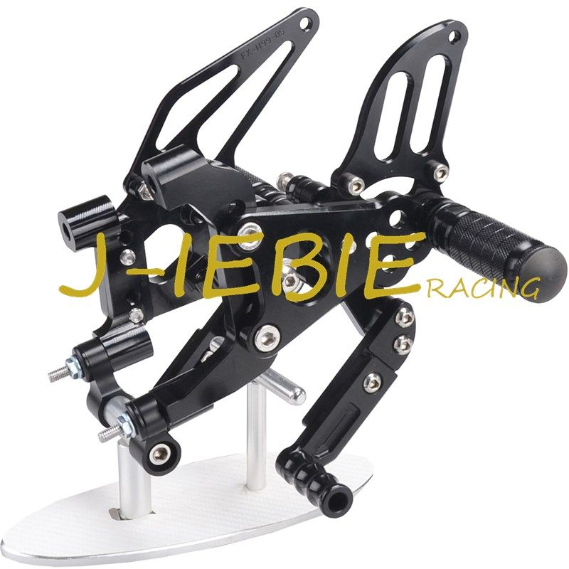 CNC Racing Rearset Adjustable Rear Sets Foot pegs Fit For Ducati 899 959 1199 1299 Panigale 2012 2013 2014 2015 2016 BLACK