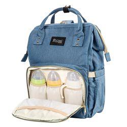 Del pañal del bebé bolsas de viaje para las mujeres nylon gran madre organizador cochecito ruedas mochila con bolso de lona multifunción Duffle