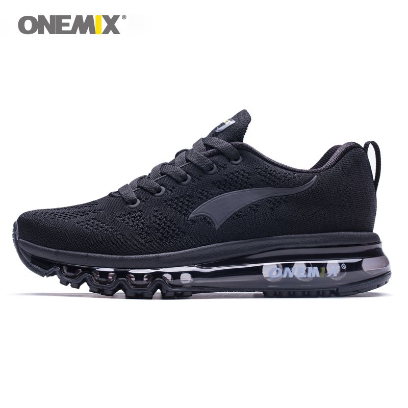 ONEMIX 2018 men running shoes light women <font><b>sneakers</b></font> soft breathable mesh Deodorant insole outdoor athletic walking jogging shoes