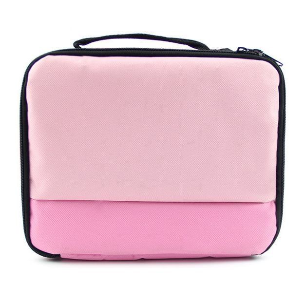 Polyester printer travel package case bag for canon selphy cp900 / 910/1200 smart phone photo printer protective case bag 3color