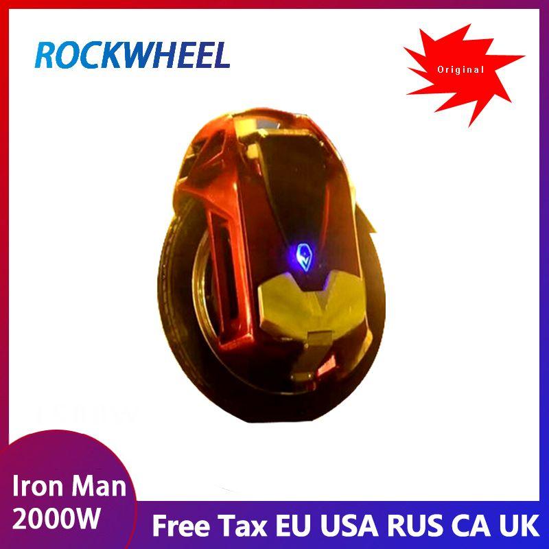 2019 NEUE ROCKWHEEL GT16 Elektrische einrad geschwindigkeit max 45 km/h +, 84 V, 16 zoll, lithium-batterie, 858WH/1036WH, leben 60-80 km