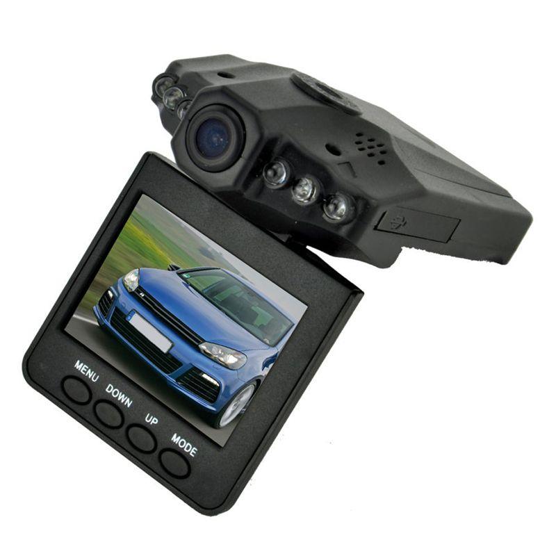 2.5 дюймов TFT Видеорегистраторы для автомобилей с 6 светодиодные фонари авто Камера видео Регистраторы регистраторы обнаружения движения Но...