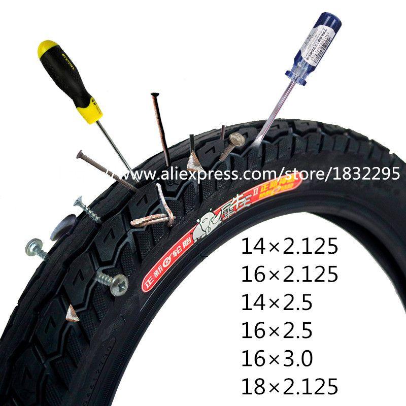 1 stücke CST elektrische fahrrad reifen 16x2,125/14x2,125/18*2,125 rhino Elektrische Fahrrad reifen fahrrad reifen 16*3,0/22*2,125