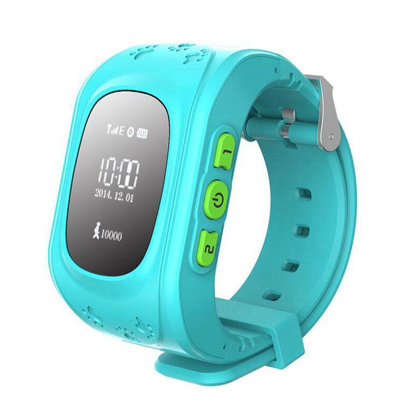Q50 Smart Watch Kid Safe Wristwatch GSM GPS Finder Locator Tracker SIM SOS Anti-Lost Smart Watch Children Watch for iOS Android