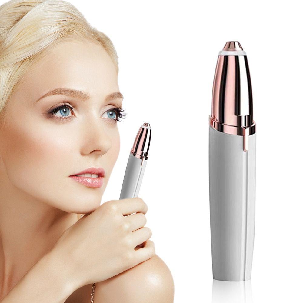 Mini Electric Face Brows Hair Remover Epilator Mini Eyebrow Shaver Instant Painless Portable Epilator Dropshipping