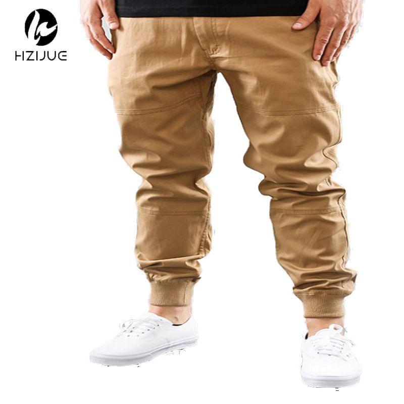 Herren städtischen kleidung M-2XL unisex khakis kleid jogger hosen mode hohe qualität dünne schwarz/navy/grün/khaki jogger