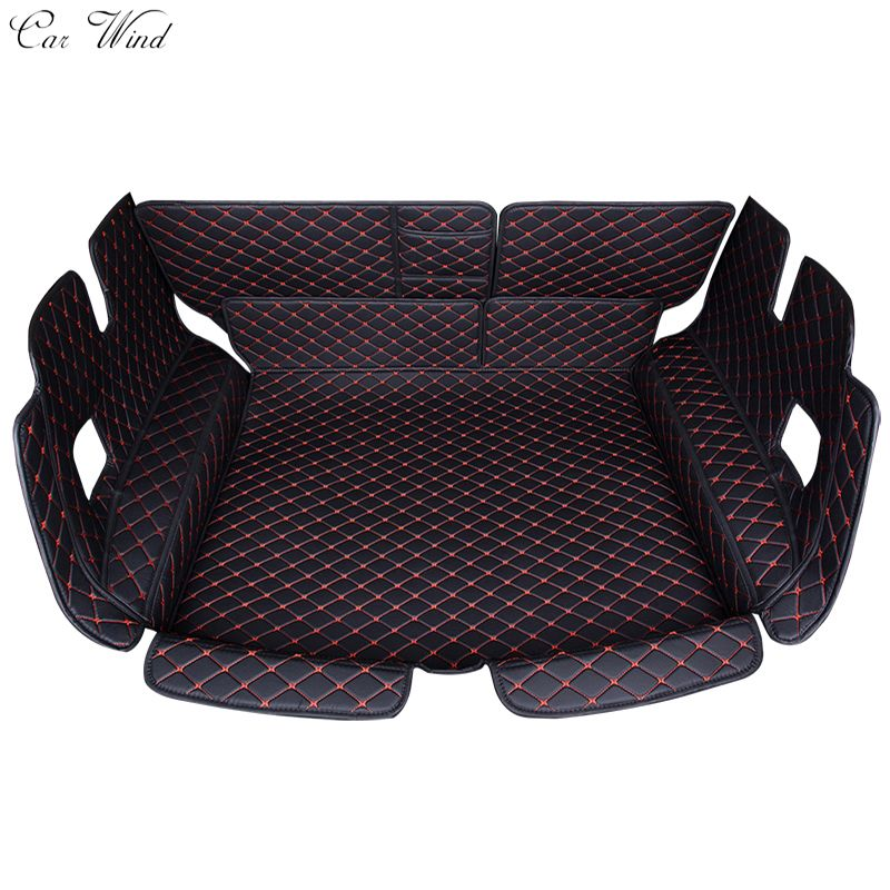Car wind car trunk mat for toyota Rav4 PRADO Highlander COROLLA Camry Prius Reiz CROWN Cargo Liner Interior Accessories Carpet