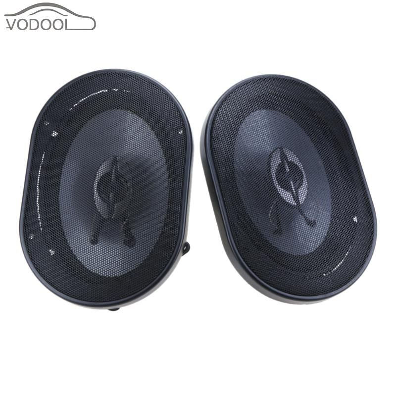 2Pcs 5*7 Car Coaxial Speaker Universal Waterproof Automobiles Audio Loud Speakers Loudspeaker Altavoces Para Auto Carro Falante