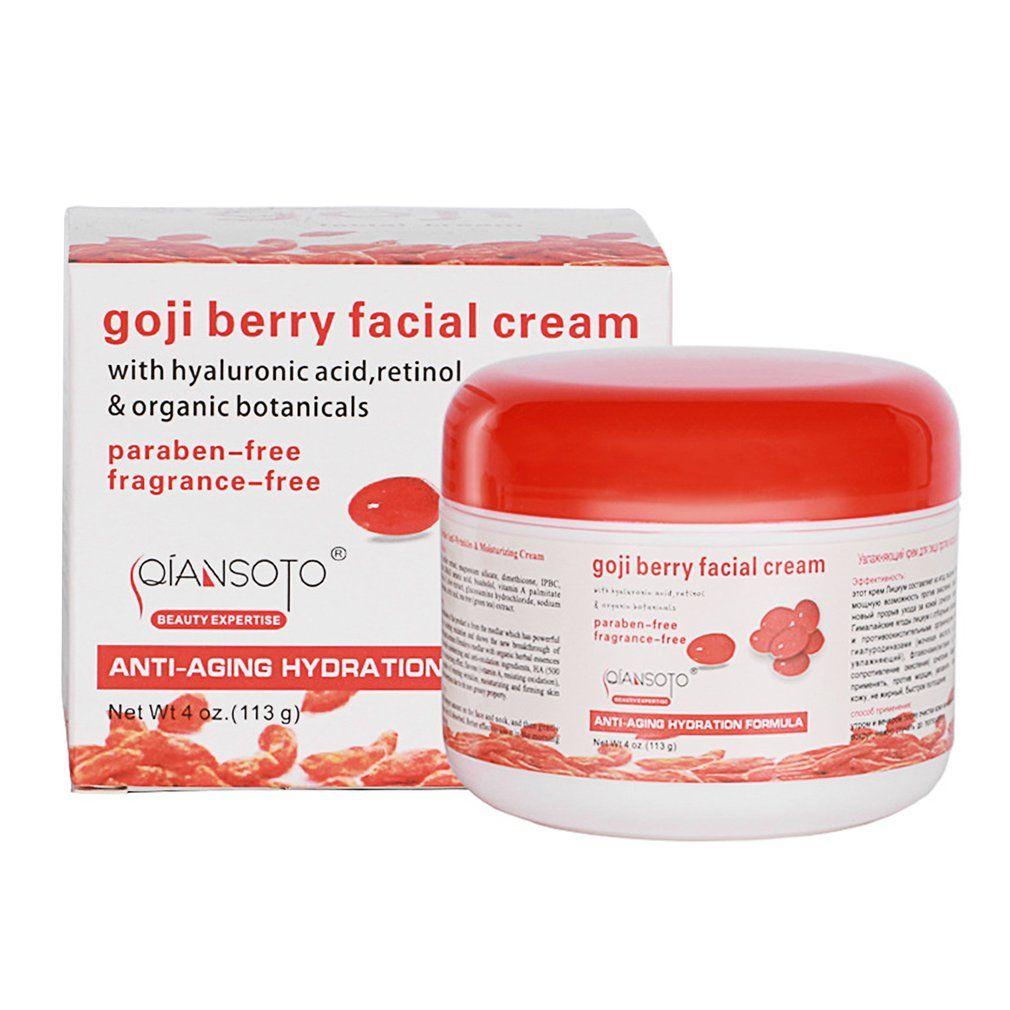 Tragbare Hause Gesundheit Creme Original Goji Berry Gesichts Creme Hautpflege Feuchtigkeits Zubehör top qualität