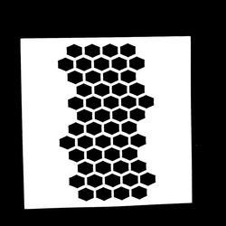 1 PC En Forme de Nid D'abeille Réutilisable Pochoir Airbrush Peinture Art DIY Décoration scrapbooking Album Artisanat Livraison Gratuite