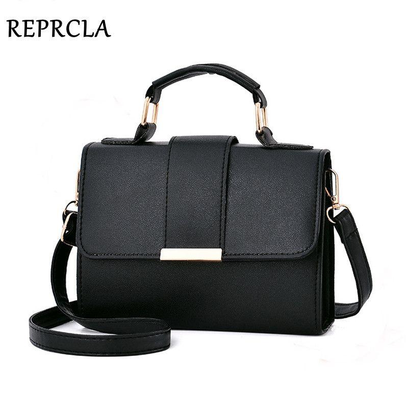 REPRCLA 2018 été mode femmes sac en cuir sacs à main PU sac à bandoulière petit rabat sacs à bandoulière pour femmes Messenger sacs