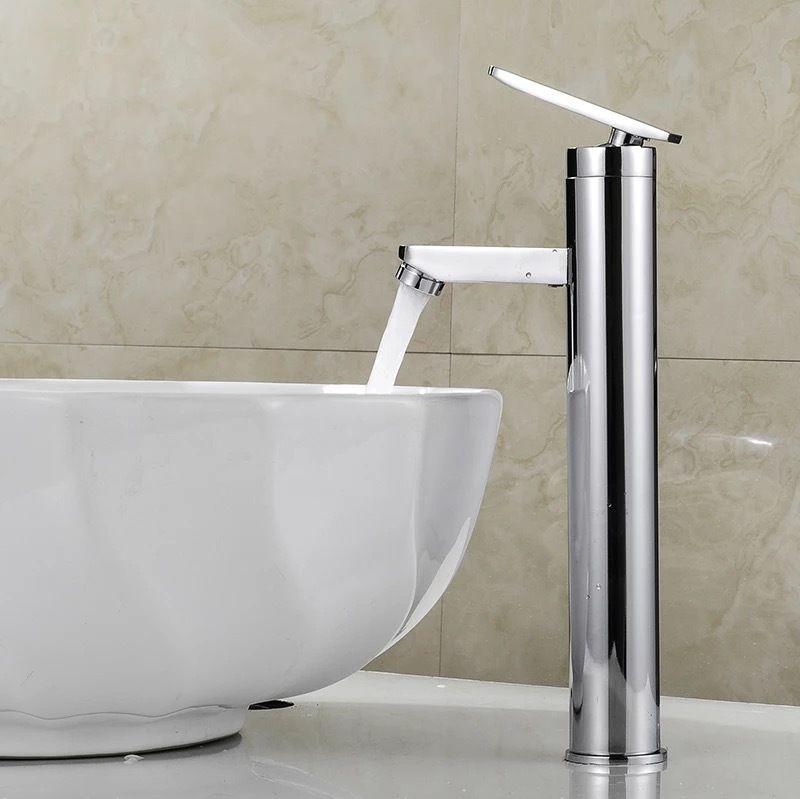 Бесплатная доставка Swan краны холодной и горячей воды бассейна Отверстие Повышение ванной кран смесители из латуни хромированный кран 9120