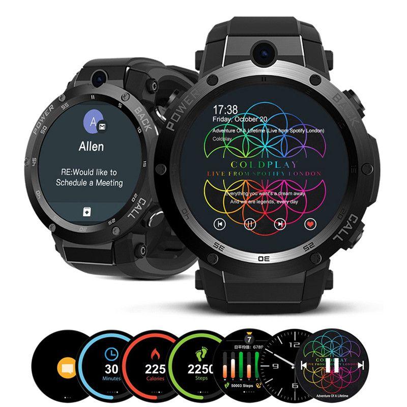 Zeblaze Thor 1,39 zoll Super AMOLED MTK6580 1 GB + 16 GB 3G GPS WIFI SIM Kamera Herzfrequenz Monitor Smart Telefon Uhr für IOS/Android