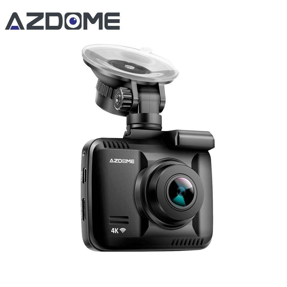 Azdome gs63h Новатэк 96660 автомобильный регистраторы 4 К 2880x2160 P тире Камера встроенный GPS DVR Регистраторы видеокамера с Wi-Fi Loop Запись