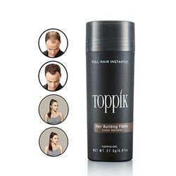 27.5g Toppik Hair Building Fibers Keratin Thicker Anti Hair Loss Products Concealer Refill Thickening Fiber Hair Powders Growth